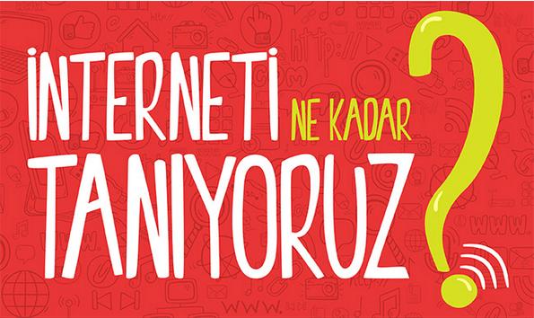 1. İnterneti Ne kadar Tanıyoruz: Bu bölümdeki etkinlikler ile öğrenciler, sınıf arkadaşlarının ve kendilerinin İnternet kullanım alışkanlıklarına dair farkındalık geliştirecekler. Hemen arkasından da İnternet terminolojisi ile ilgili bilgilerini sınayacaklar.